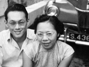 lee kuan yee and wife