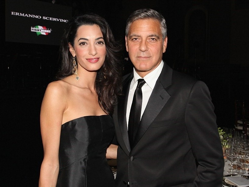 GGeorge Clooney and Amal Alamuddin_SGweddingMall